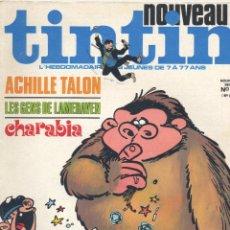 Cómics: NOUVEAU TINTIN Nº28 (CORTO MALTÉS, AQUILES TALÓN, DANI FUTURO, BUDDY LONGWAY, AGENTE SECRETO X-9.... Lote 47785673