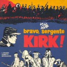 Cómics: BRAVO, SERGENTE KIRK. I GRANDI FUMETTI MONDADORI. MONDADORI, 1976. HUGO PRATT. Lote 47806422