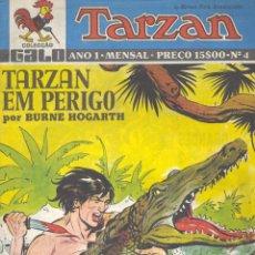Cómics: TARZAN Nº4. BURNE HOGART (INCLUYE HISTORIETA DE JORGE Y FERNANDO). Lote 47903397