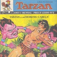 Cómics: TARZAN Nº2. BURNE HOGART. Lote 47903483