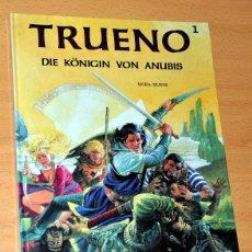 Cómics: EL CAPITÁN TRUENO EN ALEMAN - EDICIÓN ESPECIAL Y LIMITADA EN TAPA DURA - TOMO 1 - ALEMANIA 1992. Lote 48012770