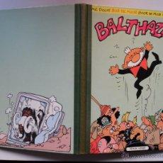 Cómics: BALTHAZAR, POR BOB DE MOOR.1984. EDICIÓN NUMERADA. EJEMPLAR 1616/2750. ALBUM TAPA DURA LOMO TELA. Lote 95970303