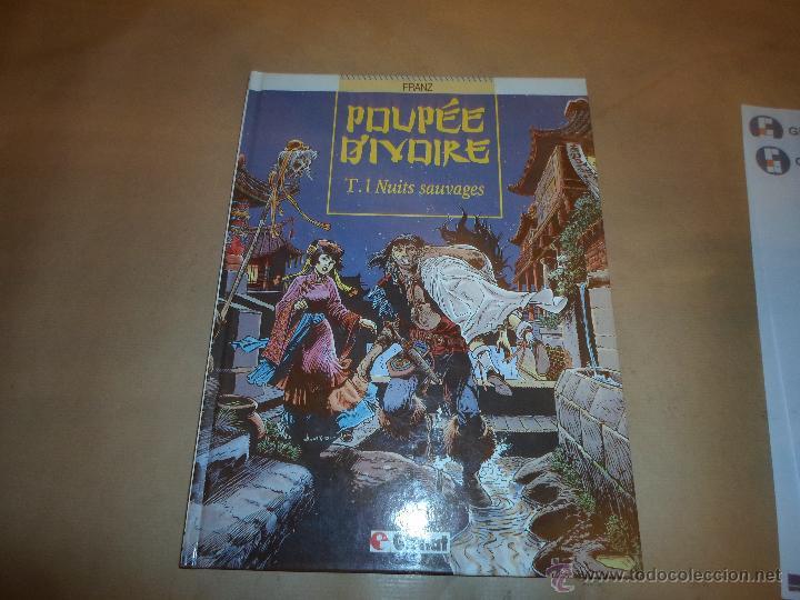 POUPEE D'IVORE, GLENAT, FRANZ, TOMO 1 NUIT SAUVAGES (Tebeos y Comics - Comics Lengua Extranjera - Comics Europeos)