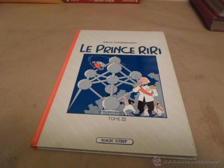 WILLY WANDERSTEEN, LE PRINCE RIRI, TOMO III, MAGIC STRIP (Tebeos y Comics - Comics Lengua Extranjera - Comics Europeos)