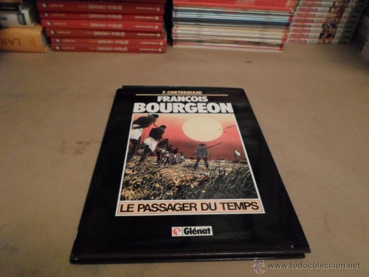 F.CORTEGGIAN, FRANCOIS BOURGEON, LE PASSAGER DU TEMPS, GLENAT (Tebeos y Comics - Comics Lengua Extranjera - Comics Europeos)