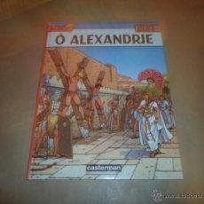 Cómics: JACQUES MARTIN, O ALEXANDRIE, ED. CASTERMAN, 1996. Lote 48636444