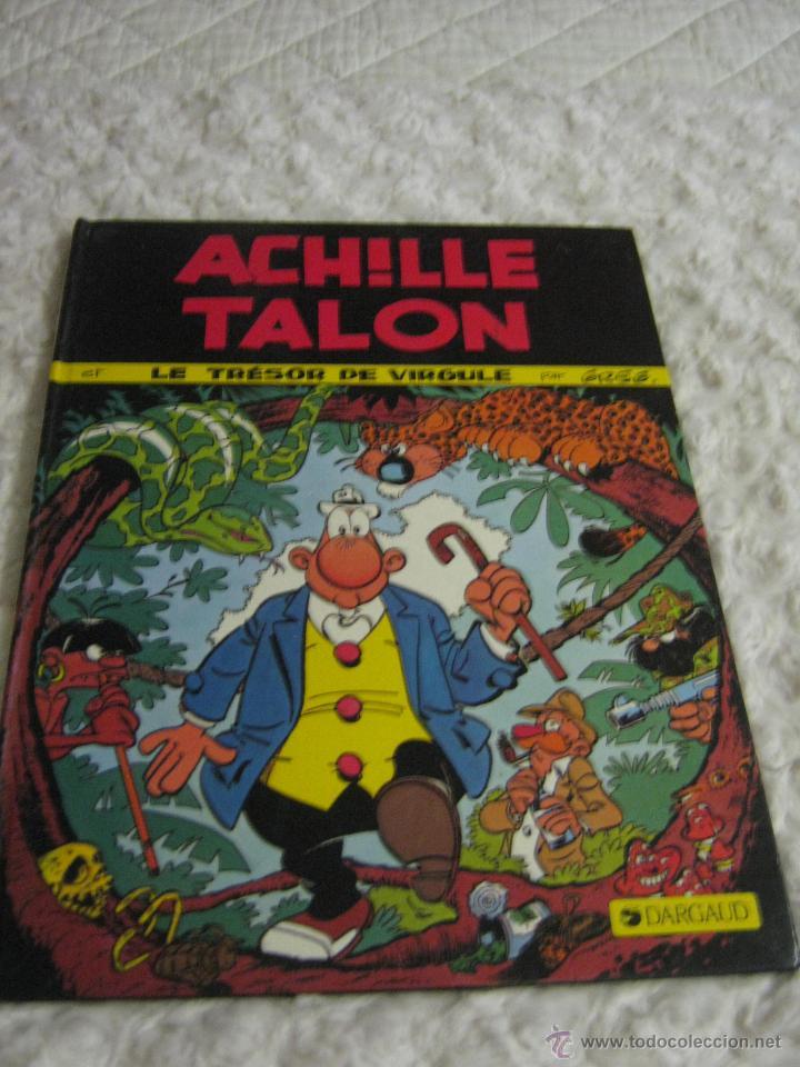 ACHILLE TALON -ET LE TRESOR DE VIRGULE - FRANCES (Tebeos y Comics - Comics Lengua Extranjera - Comics Europeos)