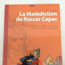 Cómics: TINTIN - LA MALEDICTION DE RASCAR CAPAC 2. LES SECRETS DU TEMPLE DU SOLEIL (FRANCÉS). Lote 131975771