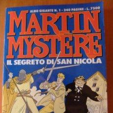 Cómics: MARTIN MYSTERE ALBUM GIGANTE Nº 1 IL SECRETO DI SAN NICOLA. Lote 48832257