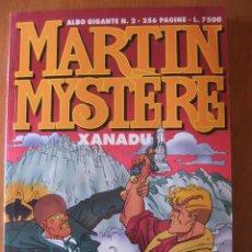 Cómics: MARTIN MYSTERE ALBUM GIGANTE Nº 2 XANADU. Lote 48832297