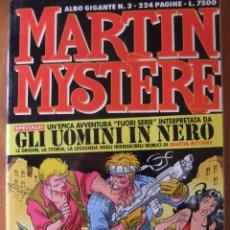Cómics: MARTIN MYSTERE ALBUM GIGANTE Nº 3 GLI UOMINI IN NERO. Lote 48832325