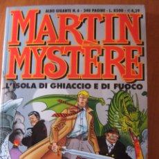 Cómics: MARTIN MYSTERE ALBUM GIGANTE Nº6 L'ISOLA DI GHIACCIO E DI FOCUO. Lote 48832374