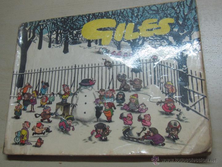 GILES SUNDAY EXPRESS & DAILY EXPRESS CARTOONS AÑO 1962 (Tebeos y Comics - Comics Lengua Extranjera - Comics Europeos)
