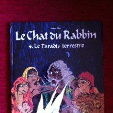Comics : # LE CHAT DU RABBIN T4. LE PARADIS TERRESTRE - JOANN SFAR - POISSON PILOTE DARGAUD (EN FRANCES). Lote 49094596