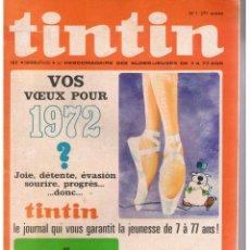 Cómics: TINTIN. Nº 1. EDICIÓN ORIGINAL FRANCESA. AÑO 1972. (RF.MA) C/35. Lote 49198302