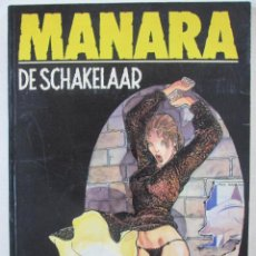 Cómics: MANARA DE SCHAKELAAR- EL CLIC-. Lote 49225470