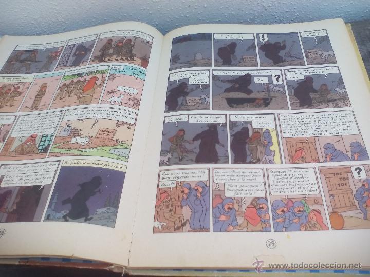 Cómics: Les Aventures de Tintin. Hergé. Les Cigares du Pharaon.. Casterman 1955. - Foto 2 - 49371864