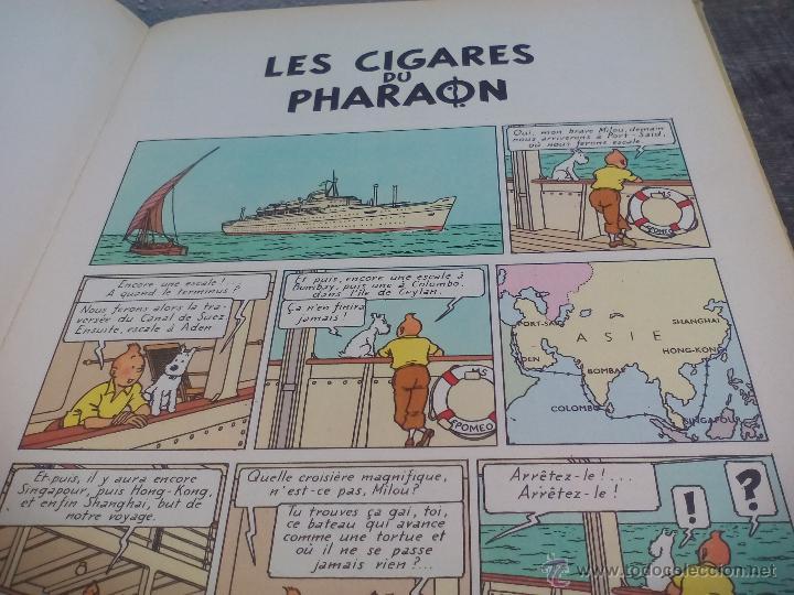 Cómics: Les Aventures de Tintin. Hergé. Les Cigares du Pharaon.. Casterman 1955. - Foto 3 - 49371864