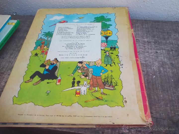 Cómics: Les Aventures de Tintin. Hergé. Les Cigares du Pharaon.. Casterman 1955. - Foto 6 - 49371864