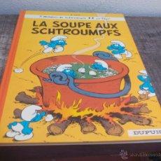 Cómics: LA SOUPE AUX SCHTROUMPFS. .PEYO DUPUIS 1976. LOS PITUFOS COMIC. Lote 49376621