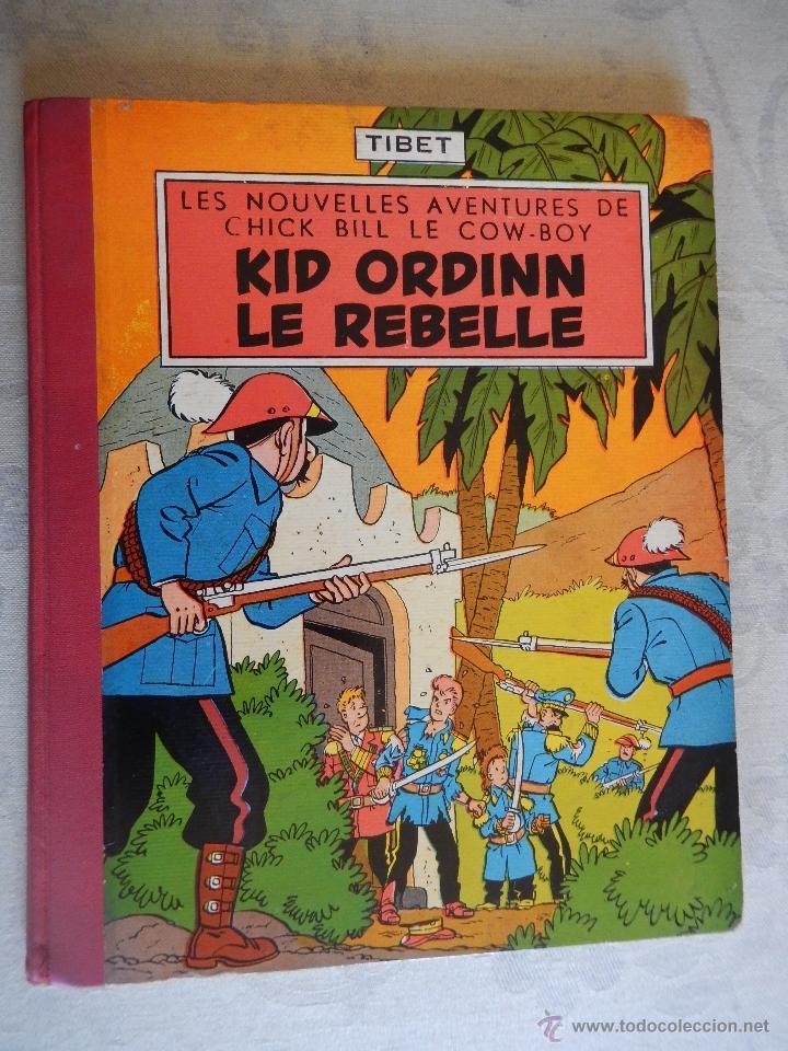 "LES NOUVELLES AVENTURES DE CHICK BILL LE COW-BOY ""KID ORDINN LE REBELLE"", COLLECTION DU LOMBARD, 195 (Tebeos y Comics - Comics Lengua Extranjera - Comics Europeos)"