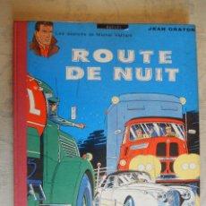 """Cómics: LES EXPLOITS DE MICHEL VAILLANT """"ROUTE DE NUIT"""", COLLECTION DU LOMBARD, 1962. Lote 49699829"""