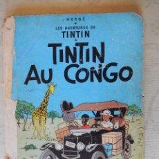 "Cómics: LES AVENTURES DE TINTIN ""TINTIN AU CONGO"", CASTERMAN. Lote 49701723"