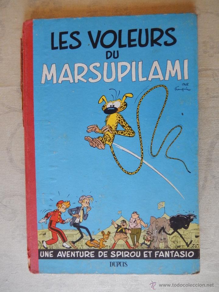 "LES AVENTURES DE SPIROU ET FANTASIO ""LES VOLEURS DU MARSUPILAMI"", DUPUIS, 1954 (Tebeos y Comics - Comics Lengua Extranjera - Comics Europeos)"