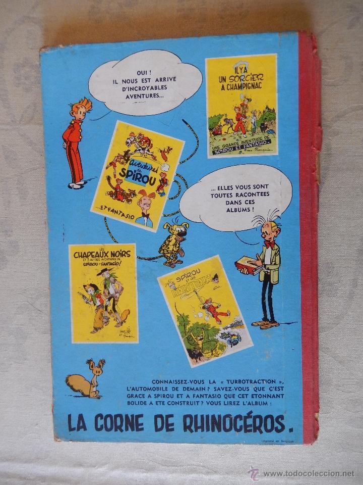 """Cómics: Les aventures de spirou et fantasio """"Les voleurs du marsupilami"""", Dupuis, 1954 - Foto 2 - 49701825"""