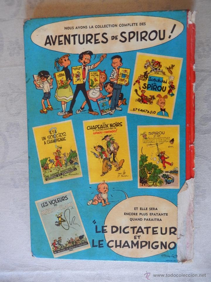 "Cómics: Une aventure de spirou et fantasio ""La corne de rhinoceros"", Dupuis 1955 - Foto 2 - 49701870"