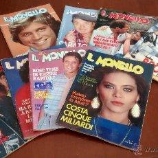 Cómics: LOTE DE 8 COMICS IL MONELLO, EN ITALIANO, VARIOS NÚMEROS Y EDICIONES. Lote 50284840