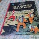 Cómics: TINTIN ON A MARCHE SUR LA LUNE EDITION ORIGINAL B11/ 1954.COLLECTION HERGÉ.CASTERMAN PARIS.FRANCES. Lote 50297063