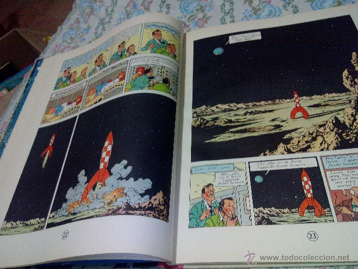 Cómics: TINTIN ON A MARCHE SUR LA LUNE Edition original B11/ 1954.collection hergé.casterman paris.frances - Foto 5 - 197264307