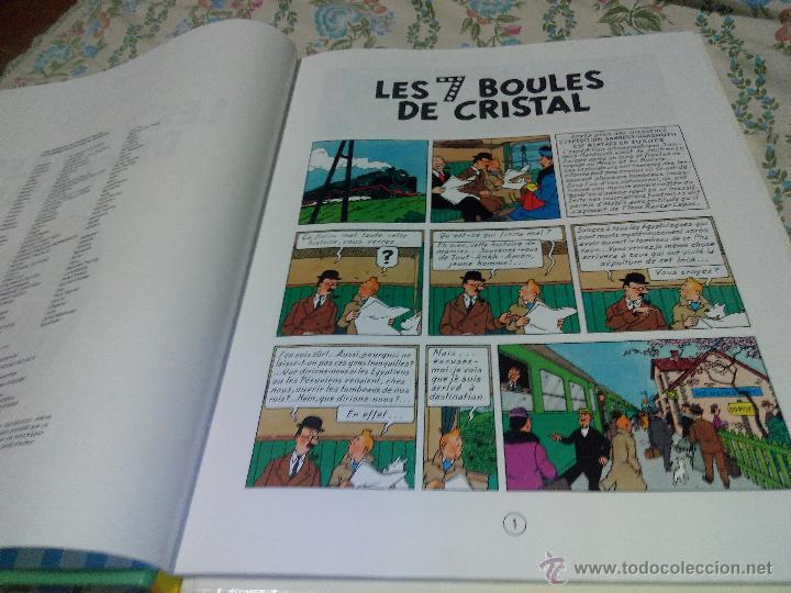 Cómics: TINTIN LES 7 BOULES DE CRISTAL CASTERMAN 1975 FRANCÉS .hergé - Foto 4 - 50327018