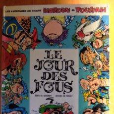 Cómics: LES AVENTURES DU CALIFE HARON EL POUSSAH, LE JOUR DES FOUS DARGAUD EDITEUR AÑO 1972. Lote 50384290