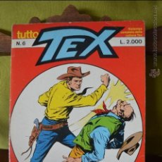 Cómics: TUTTO TEX 6 - DOPPIO GIOCO - 1986 - EDITORIALE DAIM PRESS - FIEG - L.2000 - ITALIANO. Lote 50829579