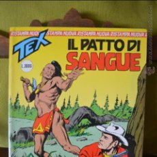 Cómics: TEX 7- IL PATTO DI SANGUE - 1996 - SERGIO BONELLI EDITORI - NUOVA RISTAMPA - ITALIANO. Lote 50831415