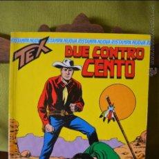 Cómics: TEX 8- DUE CONTRO CENTO - 1996 - SERGIO BONELLI EDITORI - NUOVA RISTAMPA - ITALIANO. Lote 50831428