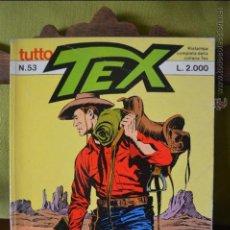 Cómics: TUTTO TEX 53 - IL GRANDE RE - 1985 - EDITORIALE DAIM PRESS - FIEG - L.2000 - ITALIANO . Lote 50831554
