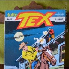 Cómics: TUTTO TEX 141 - LA TRAPPOLA - 1993 - EDITORIALE DAIM PRESS - FIEG - L.3000 - ITALIANO . Lote 50831659
