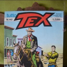 Cómics: TUTTO TEX 142 - IN NOME DELLA LEGGE - 1993 - EDITORIALE DAIM PRESS - FIEG - L.3000 - ITALIANO . Lote 50831698
