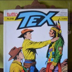 Cómics: TUTTO TEX 246 - IL FIGLIO DI COCHISE - 1997 - EDITORIALE DAIM PRESS - FIEG - L.3000 - ITALIANO . Lote 50831710