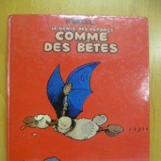 Cómics: COMME DES BÊTES. (EN FRANCES). Lote 50866126