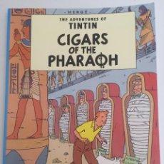 Cómics: TINTIN Y LOS CIGARROS DE FARAÓN (EN INGLES). Lote 50995854