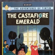 Cómics: THE CASTAFIORE EMERALD THE ADVENTURES OF TINTIN HERGÉ ED MAGNET 1987 AÑOS 80 EN INGLÉS. Lote 51067879