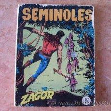 Cómics: ZAGOR Nº 43,SEMINOLES,EN IDIOMA ITALIANO,EDITORIALE CEPIM,DICIEMBRE DE 1973,DE SERGIO BONELLI. Lote 51224223