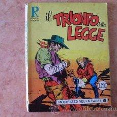 Cómics: COLLANA RODEO Nº 53,IL TRIONFO DELLA LEGGE,EDITORIALE CEPIM,OCTUBRE 1971,SERGIO BONELLI,EN ITALIANO. Lote 51225148