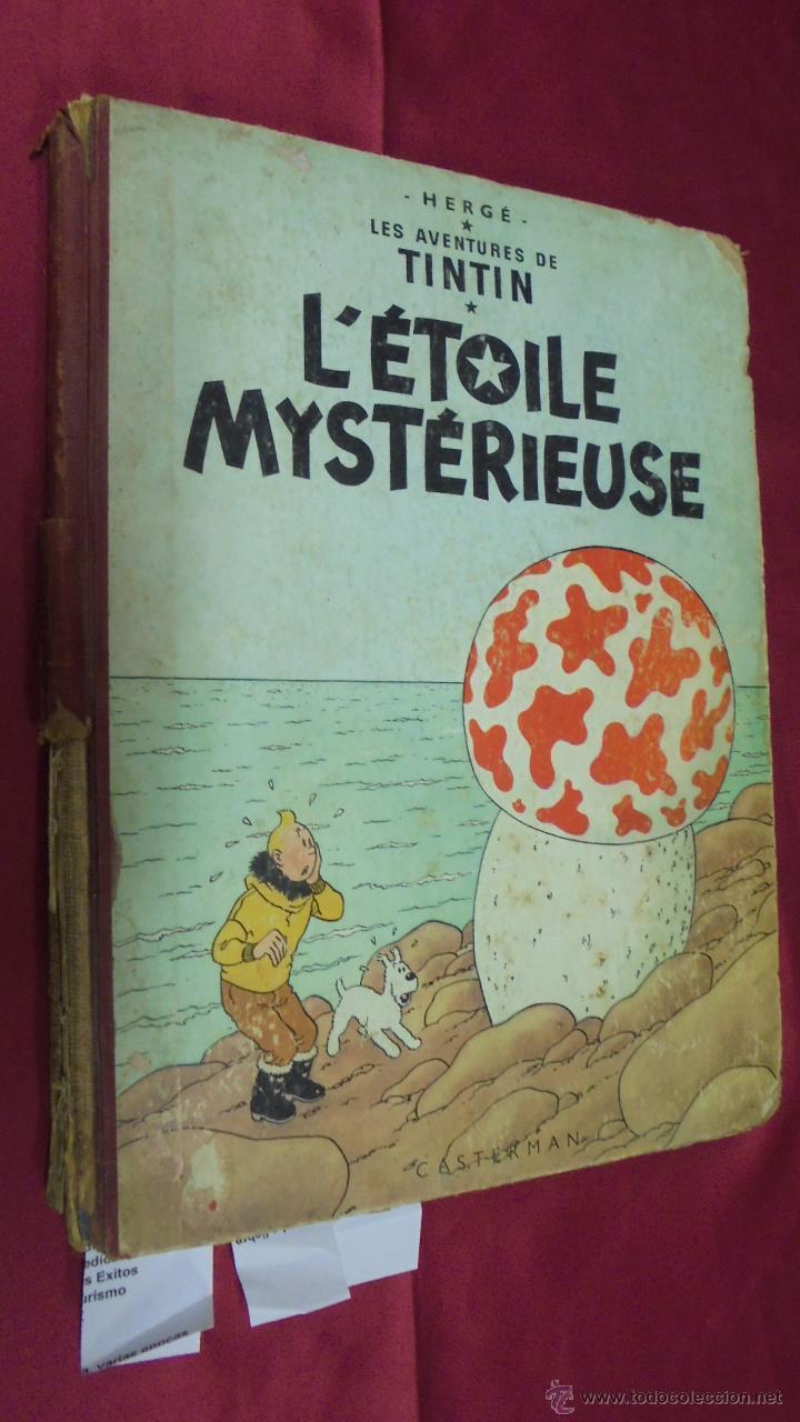 LES AVENTURES DE TINTIN. L'ETOILE MYSTÉRIEUSE. ÉDITION CASTERMAN. 1955. EN FRANCÉS. (Tebeos y Comics - Comics Lengua Extranjera - Comics Europeos)