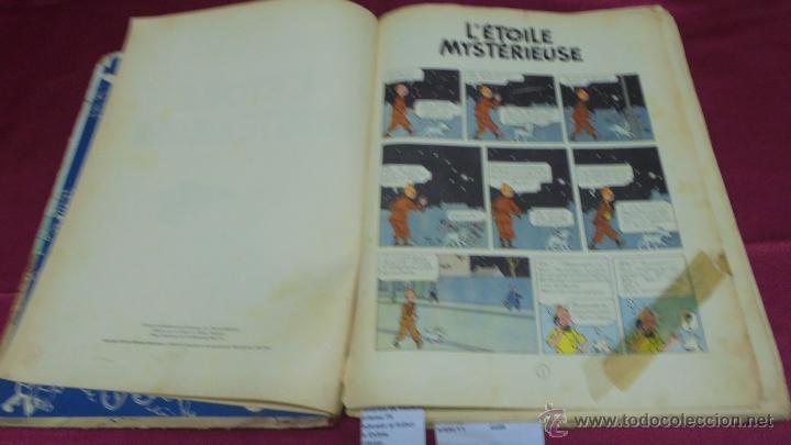 Cómics: LES AVENTURES DE TINTIN. L'ETOILE MYSTÉRIEUSE. ÉDITION CASTERMAN. 1955. EN FRANCÉS. - Foto 5 - 51447351