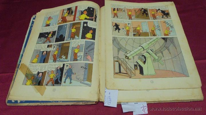 Cómics: LES AVENTURES DE TINTIN. L'ETOILE MYSTÉRIEUSE. ÉDITION CASTERMAN. 1955. EN FRANCÉS. - Foto 6 - 51447351